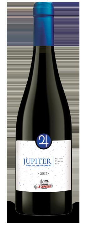 Bottiglia di vino Jupiter Special Refinement Bianco Verona 2017