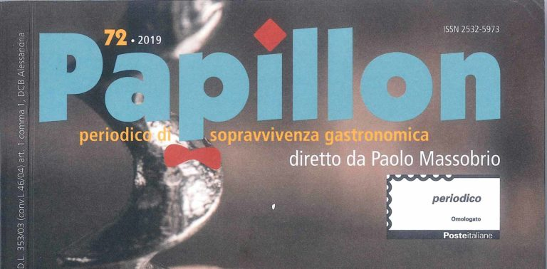"""Diana"" 2017, reviewed by Paolo Massobrio, is published in the Papillon magazine"