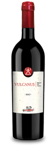 Bottle of wine Vulcanus 2017